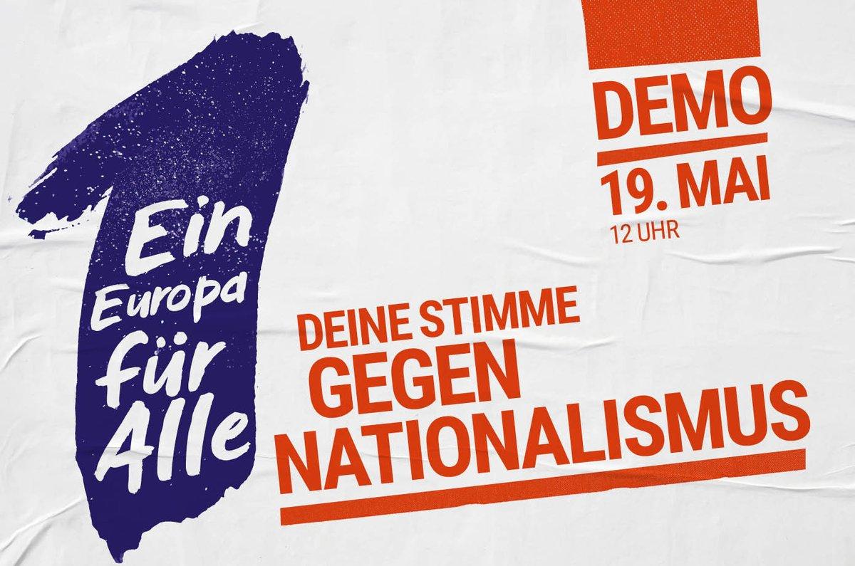 Für Europa: Deine Stimme gegen Nationalismus!