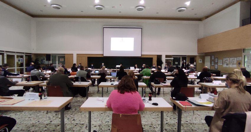 Erste Sitzung des Gemeinderats